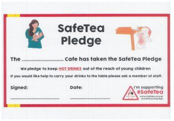 SafeTea Café Pledge